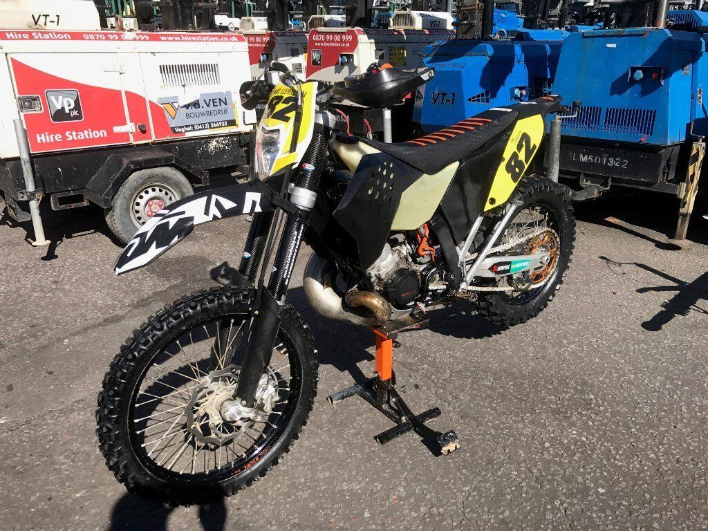 ktm 200 exc, 2011, endruo, dirt bike, road legal | in port talbot