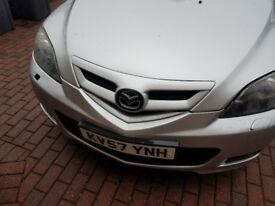 Start and drive but has a cracked windscreen and a little dent on rear passenger side