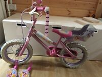 Disney princess girls bike - 14 inch