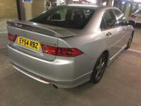 2005 honda accord type s in immaculate cond new tyres fresh mot ac cd abs 6 speed cruise control