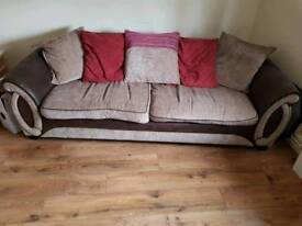 4 seater sofa and matching chair