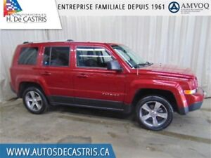 2016 Jeep Patriot HIGH ALTITUDE*4X4, CUIR, TOIT OUVRANT