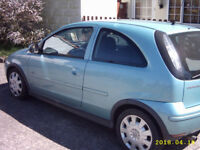 2004 54 reg Vauxhall Corsa 1.2 Design Twinport 72000 miles.