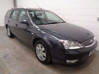 FORD MONDEO 2.2 DIESEL ESTATE, ONLY 70000 MILES,YEARS MOT+HISTORY,FINANCE AVAILABLE, WARRANTY