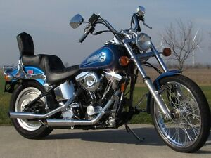 1993 harley-davidson FXSTC Softail Custom   MINT Evolution 80 Cu