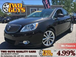 2014 Buick Verano LOW KMS ALLOYS GREAT SAFETY RATINGS!!