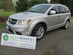 2011 Dodge Journey R/T, AWD, LEATHER, INSP, WARR