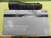 Tamron SP 150-600mm F/5-6.3 Di VC USD Canon fit