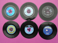 SIX c1960s Collectable Original 45rpm Vinyl Records