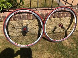 Bicycle wheels , pair