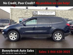 2010 Chevrolet Traverse 1LT awd w/remote start 7 passenger w/blu