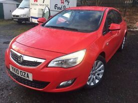 10 plate - Vauxhall Astra 1.7 CDTI - Exclusive - 3 former keepers - one year mot