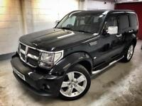 🌟🌟 Low Mileage Dodge Nitro CRD 2.8 6spd Manual Diesel. FSH. 12 Months MOT. Only 48000 Miles🌟🌟