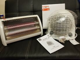 RS Fan Heater & Zeramic Rod Heater brand new and very veey good condition