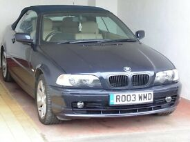 BMW 318I CONVERTIBLE 2003