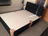 Chenille divan beds