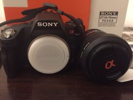 Sony a390 DSLR Camera with Lens and Accessories in Great Condition