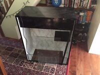 "Tall Wooden Vivarium (30"" x 15"" x 36"" - Width x Depth x Height) Sliding Glass Doors"