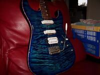 Pro quality Warmoth/WD Music/Fender USA/Seymour Duncan Super Stratocaster.