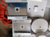 New & used Electric switches and fitting