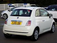 FIAT 500 1.2 POP 3dr ONLY 8,000 Miles ** Only 8000 miles ** (white) 2015