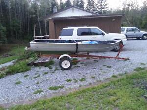 Used 1980 Lund Boat Co 14' welded aluminum