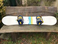 Snowboard & bindings - Hammer 152