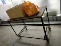 Craft or tailoring table trolley on wheels central London bargain