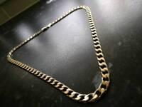 9ct.gokd curb chain
