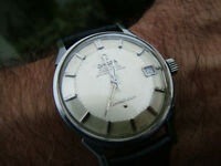 100& Genuine Original Omega Constellation Pie Pan Vintage 1967 Auto Chrono Swiss 34mm Watch WARRANTY