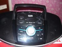 new jdw portable cd/mp3/usb player with pll fm stereo radio