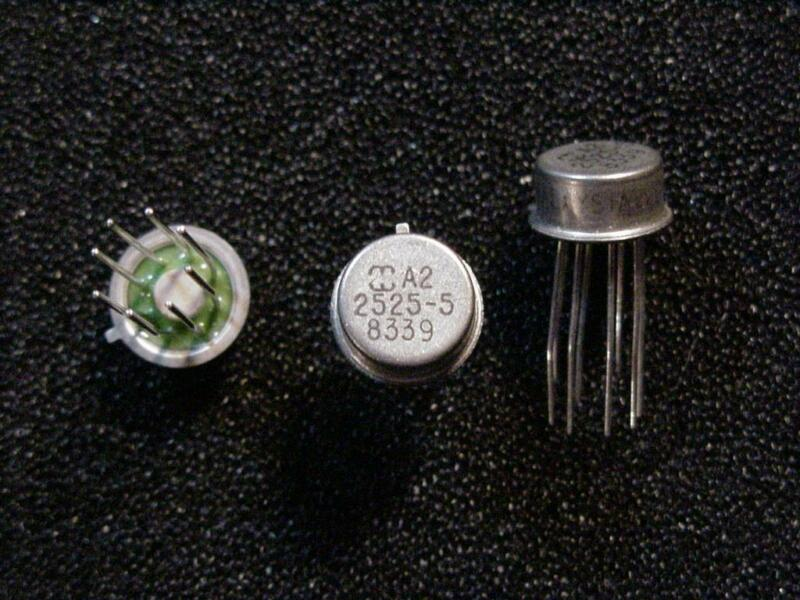 A2-2525-5 IC Operational Amplifier Metal Can Harris