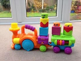 Push along train toy (Fisher Price)