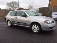 2003 NISSAN ALMERA 1.5 S *** ONLY 69000 MILES + 12 MONTHS MOT + 2 OWNER CAR ***
