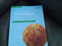 Edexcel Higher MATHS GCSE 9-1 textbook