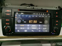 BRAND NEW BMW E46 AND OTHER MODELS ANDROID CAR STEREO**16GB INTERNAL MEMORY*BUILT IN FULL EU MAPS*