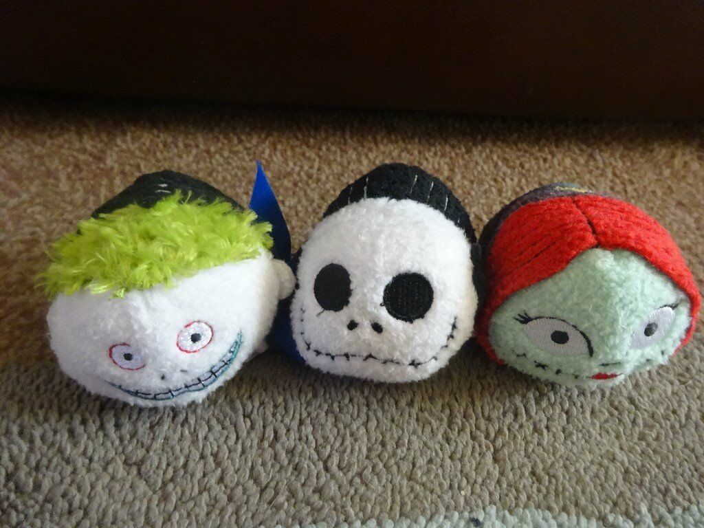 3 new Genuine tsum tsum nightmare before Christmas Jack, Barrel and ...