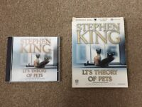 LT's Theory of Pets Stephen King CD Audiobook