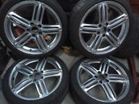 "18"" alloy wheels 5/110 fit Vauxhall Astra vectra Zafira meriva"