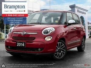 2014 Fiat 500L LOUNGE   TRADE-IN  MANUAL   BACKUP CAM   LEATHER