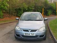 VAUXHALL CORSA 1.2L 2005 5DOOR 62000 WARRANTED MILES 9SERVICES MOT TILL27/11/2018 HPI CLEAR