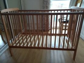 Cyprus Cot with Mattress for Sale