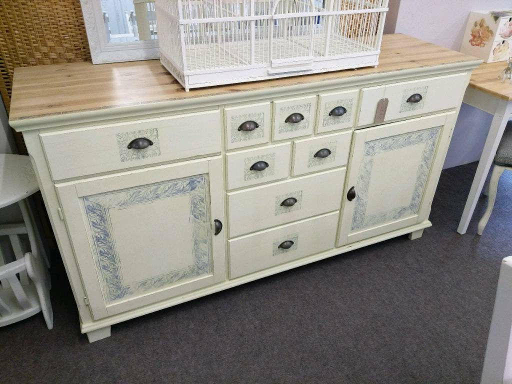 Large Cream Shabby Chic Sideboard In Norwich Norfolk Gumtree