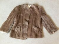 Ladies vintage fur jacket 1930/40's