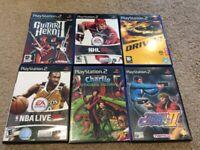6 PS2 Games