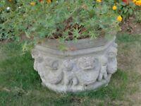 Attractive large garden pot
