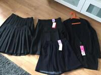 Black M&S uniform bundle age 12-14 years nearly all brand new with tags