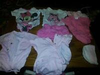 newborn onesies and outfits and hats