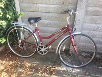 Ladies Voyager HY Brid Cycle 18 sp