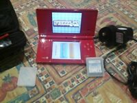 Red nintendo dsi in excellent condition